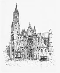 Amiens Cathedral Floor Plan The Project Gutenberg Ebook Of How France Built Her Cathedrals By