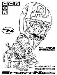 holiday coloring pages nhl coloring pages free printable