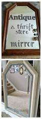 How To Antique Furniture by How To Antique A Mirror Diy Beautify