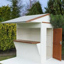 Shiplap Sheds 6 X 4 6x4 Timber Bar Shiplap Timber Bar U0026 Garden Store Departments