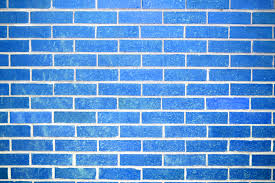 sky blue brick wall texture picture free photograph photos