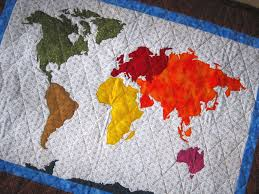 map quilt our patchwork map quilt pattern sized templates and