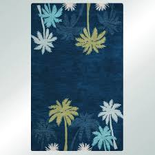 Tropical Print Area Rugs Hawaiian Print Area Rugs Black And White Area Rugs With Palm