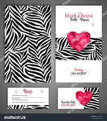 zebra print invitations templates contegri com