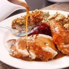 thanksgiving dinner at rails steakhouse