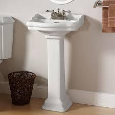 pedestal sink towel bar sink sink kohler pedestal sinks with towel bar installation white