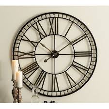 Best 25 Large Wall Clocks Best 25 Large Metal Wall Clock Ideas On Pinterest Wall Clocks