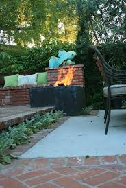 ciao newport beach a backyard fire pit