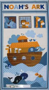 patchwork quilting sewing fabric noah u0027s ark kids panel material