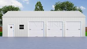 three car garage 26x41 three car metal garage