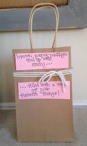 homemade valentines day gift bag idea for him the newlyweds