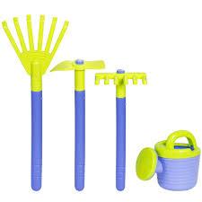 bcp garden wagon with 8 gardening tools fun kids toy play set