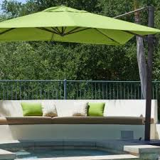 outdoor large cantilever patio umbrella cantilever patio umbrella