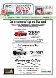 the genesee valley penny saver livingston edition 3 10 17 by