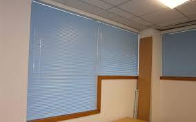 blue aluminium venetian blinds office surrey blinds u0026 shutters