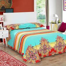 Beautiful Duvet Covers Brushed Cotton Bohemian Bedding Sets 4pcs Queen King Duvet Cover