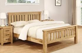 Oak Bed Frame Charlton Oak Bed Frame Corstorphine Bed Centre Edinburgh