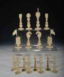 antique macao ivory figural chess set richard gardner antiques