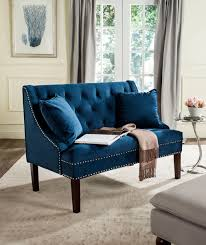 Settees Furniture Fox6253a Loveseats Settees Furniture By Safavieh