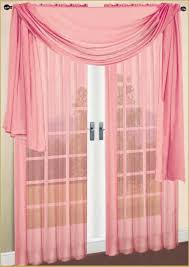 amazon com 2 piece solid dusty rose sheer window curtains drape