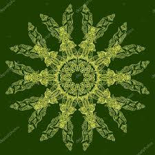 indian ornate mandala doily round lace pattern circle background