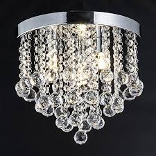3 light flush mount ceiling light fixtures zeefo crystal chandelier modern chandeliers crystal ball light