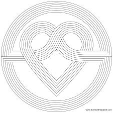 heart mandala coloring pages 13 heart mandala coloring pages