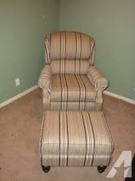tilt back chair with ottoman smith brothers tilt back chair ottoman for sale in papillion