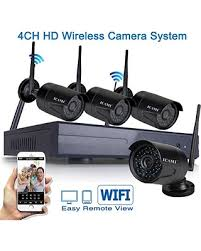 deal alert icami hd 720p security system kits 4ch wireless