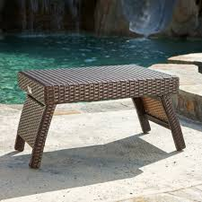 Portofino Outdoor Furniture Amazon Com Rst Brands Lounger Side Table Patio Furniture