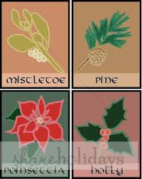 christmas plants christmas plants mistletoe pine poinsettia christmas