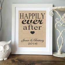 personlized wedding gifts personalized wedding gift custom burlap from allaboutthenames on