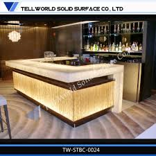Used Salon Reception Desk For Sale by Custom Made Commercial Nail Bar Tables Iso Certified Led Bar Buy