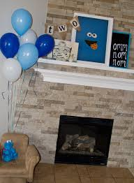cookie monster baby shower the turnage u0027s gavin u0027s cookie monster 2nd birthday party
