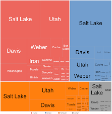 Maps Of Utah by File Tree Map Of Utah 2016 Presidential Election By County Png