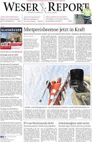 Zurbr Gen Esszimmerstuhl Weser Report Huchting Stuhr Brinkum Vom 02 12 2015 By Kps