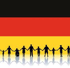 Flag People Patriotismus Deutschland Ist Europas Unverzichtbare Führungsmacht