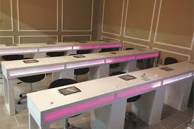 manicure table with built in led light skyline s new hq is ginormous business nails magazine
