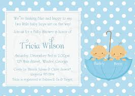 baby shower invitations for twins plumegiant com
