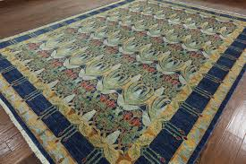 Area Rugs 10 X 14 by Hand Knotted Art Deco Modern Oriental Area Rug 10 X 14