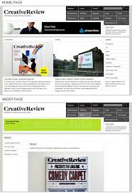 design magazine site the elements of a clean web design