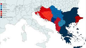 Serbia World Map by New Western Balkan War New Maps Youtube