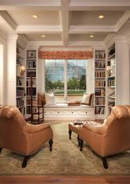 Home Library Design 36 Fabulous Home Libraries Showcasing Window Seats Window Nook