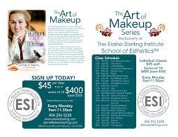 Make Up Classes In Atlanta Art Of Makeup Series At Esi U2013 Authentic Beauty