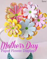 cheap mothers day flowers diy s day paper flower bouquet the cards we drew