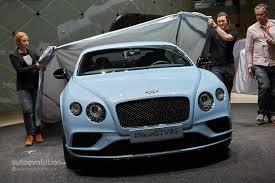 matte blue bentley world debut for 2015 bentley continental gt at the geneva motor