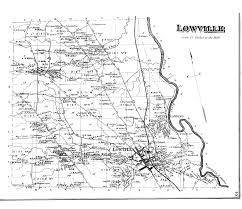 Clifty Falls State Park Map by Unfinished Railroads Of New York State