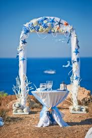 wedding arches decorating ideas wedding decorations wedding arch starfish flowers