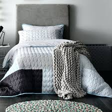 Light Blue Coverlet Bedroom Elegant Lexington Coverlet Light Pool West Elm Blue Quilt
