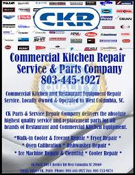 commercial kitchen appliance repair authorized commercial kitchen equipment repair service parts